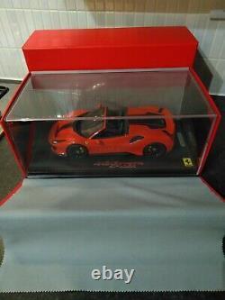 Bbr 1/18 Ferrari 488 Pista Spider 1 De 48 Ltd Very Rare Display Great Condition