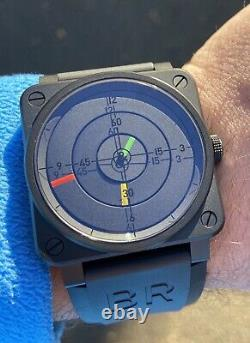 Bell & Ross Radar Limited Edition Montre Br03-92. Ensemble Complet. Comme New Condition