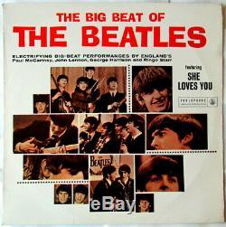 Big Beat Of The Beatles Afrique Du Sud Seulement 1963 Lp Impossible Ex Conditions