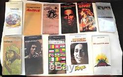 Bob Marley & The Wailers 11 CD Longboxes Scellés Lot Excellent État Rare