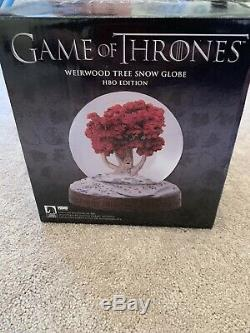Boule À Neige Game Of Thrones Weirwood (édition Limitée) 312/500 Bon État