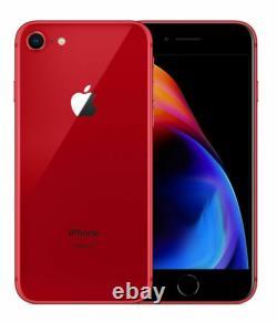 Boxed New Condition Apple Iphone 8 Red 64go (déverrouillé) Edition Limitée