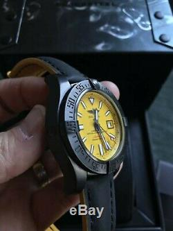 Breitling Avenger 2 Seawolf Blacksteel Édition Limitée. Etat Neuf Démarqué