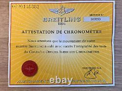Breitling B1 Bracelet Montre A68362, Excellent État Utilisé Avec Boîte & Papiers