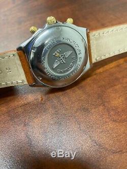 Breitling Chronomat Automatique Montre Homme B13048 Acier / Or Condition De Nice