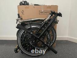 Brompton S6l 2016 Nickel Special Limited Edition Vélo Excellent État