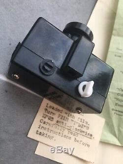 Caméra Subminiature Tres Rare Camoject Ltd Bakelite Bon Etat