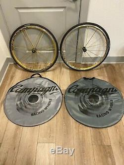 Campagnolo Shamal Ultra Tubular Limited Edition Or Wheelset Mint Condition