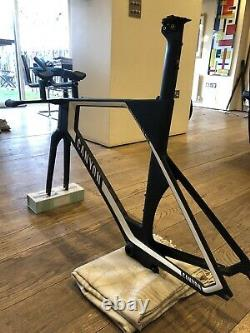 Canyon Speedmax Cf Slx 9.0 Ltd Tt/triathlon Bike Frameset, Excellent État