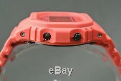Casio G-shock Dw-5635c-4er Édition Limitée Red Out À L'état Neuf