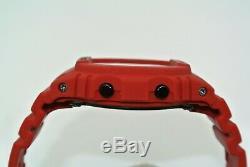 Casio G-shock Dw-5635c-4er Édition Rouge En Édition Limitée À L'état Neuf