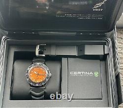 Certina Ds Super Ph500m Vdst Edition Limitée Montre De Plongée Excellent État