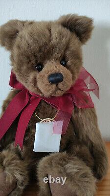 Charlie Bears 2006 Edition Limitée Original Daniel Immaculé État