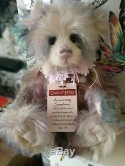Charlie Bears Anniversaire Symphony Ltd Edition De 500 New Excellent État