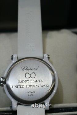 Chopard Happy Heart Limited Edition 1000wrist Montre-très Bon État Et Authétique