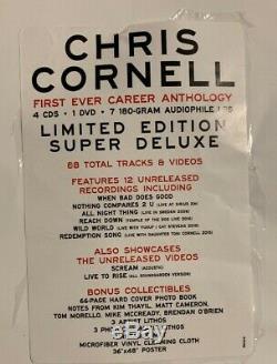 Chris Cornell Coffret Super Deluxe En Édition Limitée, Presque À L'état Neuf, À Voir Absolument