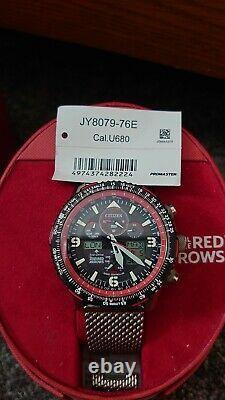 Citizen Red Arrows Limited Edition Jy8978-76f Excellent État