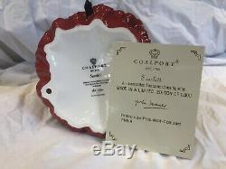 Coalport Scarlett Limited Edition De 1000 Mint Condition Avec Certificat