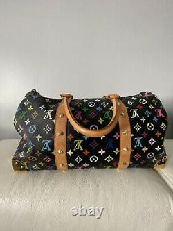 Condition Rare! Htf Louis Vuitton Multicolor Duffle Keepall 45 Sac