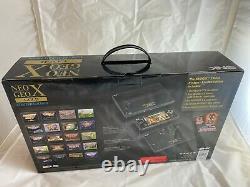 Console Neo Geo X Gold Edition Limitée Nouveau Et Scellé État Fantastique