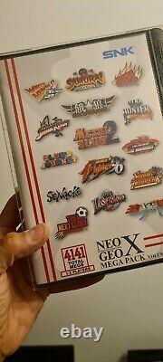 Console Neo Geo X Gold Edition Limitée Nouveau Et Scellé État Fantastique +