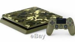 Console Pour Appel De Service Ps4 Ww2 En Édition Limitée Sony + 4 M Garantie - État Optimal