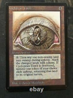 Cyclopean Tomb Limited Edition Beta Nm Near Mint Grande Forme! Magie Mtg