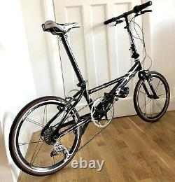 Dahon Vélo Pliant Helios XX Edition Limitée Jamais Ridden 7.7kg État De La Monnaie