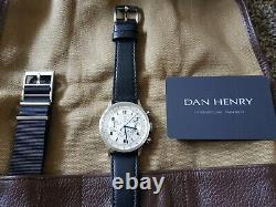 Dan Henry 1939 Chronographe Militaire Edition Limitée, Ensemble Complet, État De La Monnaie