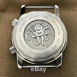 Dan Henry 1970 Automatic Edition Limitée Mint Condition Orange 40mm