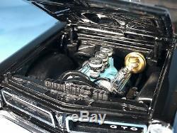 Danbury Mint 124 1965 Pontiac Gto 2dht Coupé Noir, Newithmint Condition