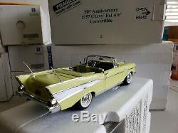 Danbury Mint 124 Édition Limitée 1957 Conditionnement De Collecteur D'air Chevy-bel