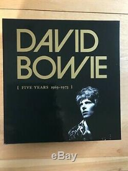 David Bowie Five Years Limited Edition Box Set Vinyle Mint Condition
