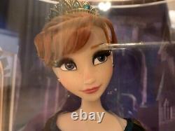 Disney Edition Limitée Queen Anna 17 Poupée De Frozen 2, État Neuf Et Menthe