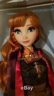 Disney Store Frozen 2 Limited Edition Anna Doll 17 Brand New Parfait État