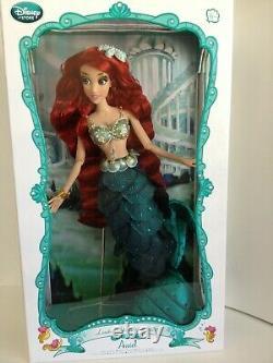 Disney Store La Petite Sirène Ariel 17 Limited Edition Doll Impeccable