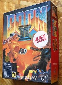 Doom II 2 Big Box (pc Cd-rom) Edition Limitée Bon À Très Bon État
