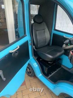 Eco Cabin Car Mobility Scooter Reconditionnés One In Stock! (bleu Noir)