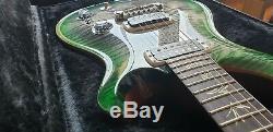 Edition Limitée 2018 Prs Paul Reed Smith La Guitare De Paul Dans Un État De Jade Éclaté