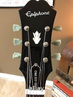 Édition Limitée Epiphone Guitare Électrique Dot Es-335 Pro Vs Excellent État