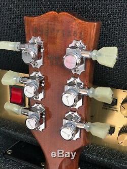 Edition Limitée Gibson Les Paul Standard Avec Accordeurs Verrouillables En Parfait État