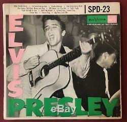 Elvis Presley Rare 1956 Triple Gatefold Promo Ep Spd-23 Couverture Seulement Condition -ex