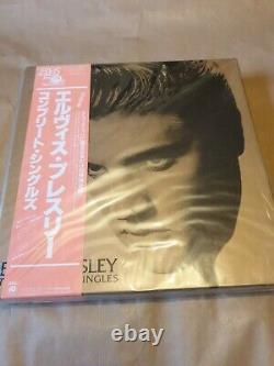 Elvis Presley The Complete Japanese Singles Vinyl Lp Box Set Ltd État De La Menthe