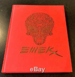 Emek A Signé, N ° 48/300 Ltd Ed. Oeuvres Recueillies De Aaarght Mint Condition