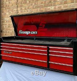Enclencher Boîte À Outils Snap On Top Box Ltd Edition 53 En Bon État Atelier Utilisé