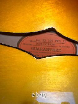 Epiphone 335 Pro Iced Tea Limited Edition Guitare 2016 Excellent État
