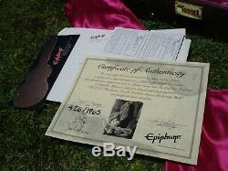 Epiphone John Lennon Casino N ° 426 De 1965 En Édition Limitée, État Proche De L'état Neuf
