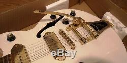 Epiphone Limited Edition Wildkat White Royale, Blanc Perle, Occasion En Excellent État