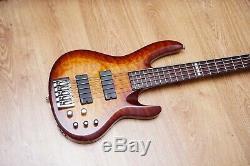Esp Ltd B405 5 Cordes Guitare Basse État Neuf