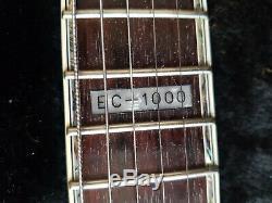 Esp Ltd Ec-1000 Noir Brillant Très Bon État